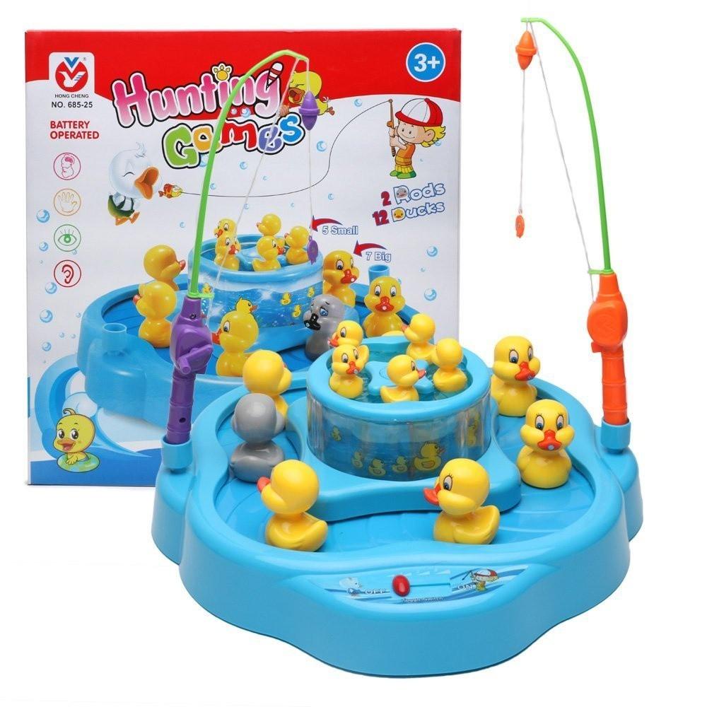 Bộ đồ chơi câu vịt N.685-25 - Chạy theo băng chuyền 2 tầng mới lạ