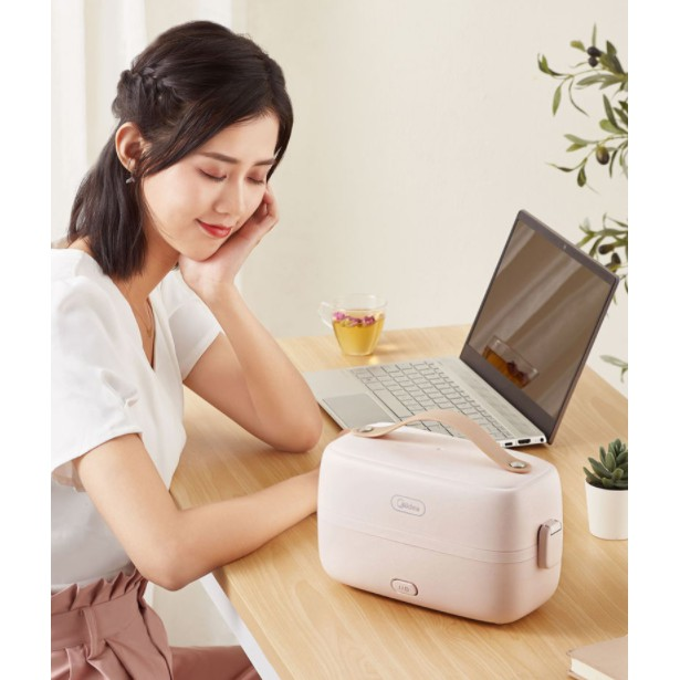 Hộp cơm cắm điện Media MB-FB10M205, nấu chín, hâm nóng và giữ nhiệt cho thức ăn
