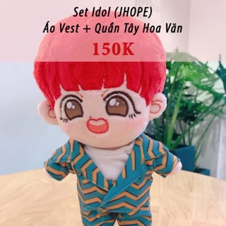 Outfit doll BTS Set IDOL Jhope (không kèm doll)