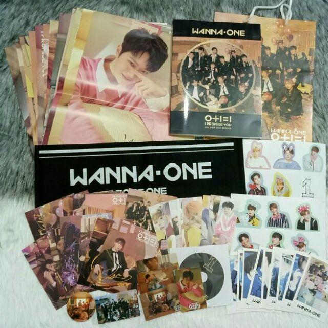 Combo photobook Wanna One - I Promise you, Nothing without you