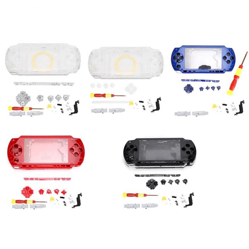 Yimeni ABS Durable Replacement Protective Case for PSP1000 Game Controller with Easy Install Screwdriver