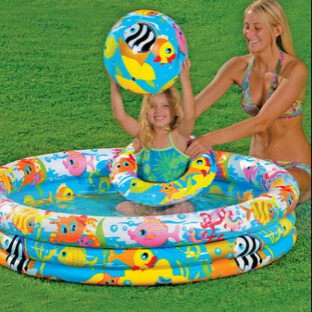 Bể bơi cho bé 3 chi tiết Intex