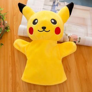 Con Rối Đeo Tay Hình Pikachu Dễ Thương Cho Bé