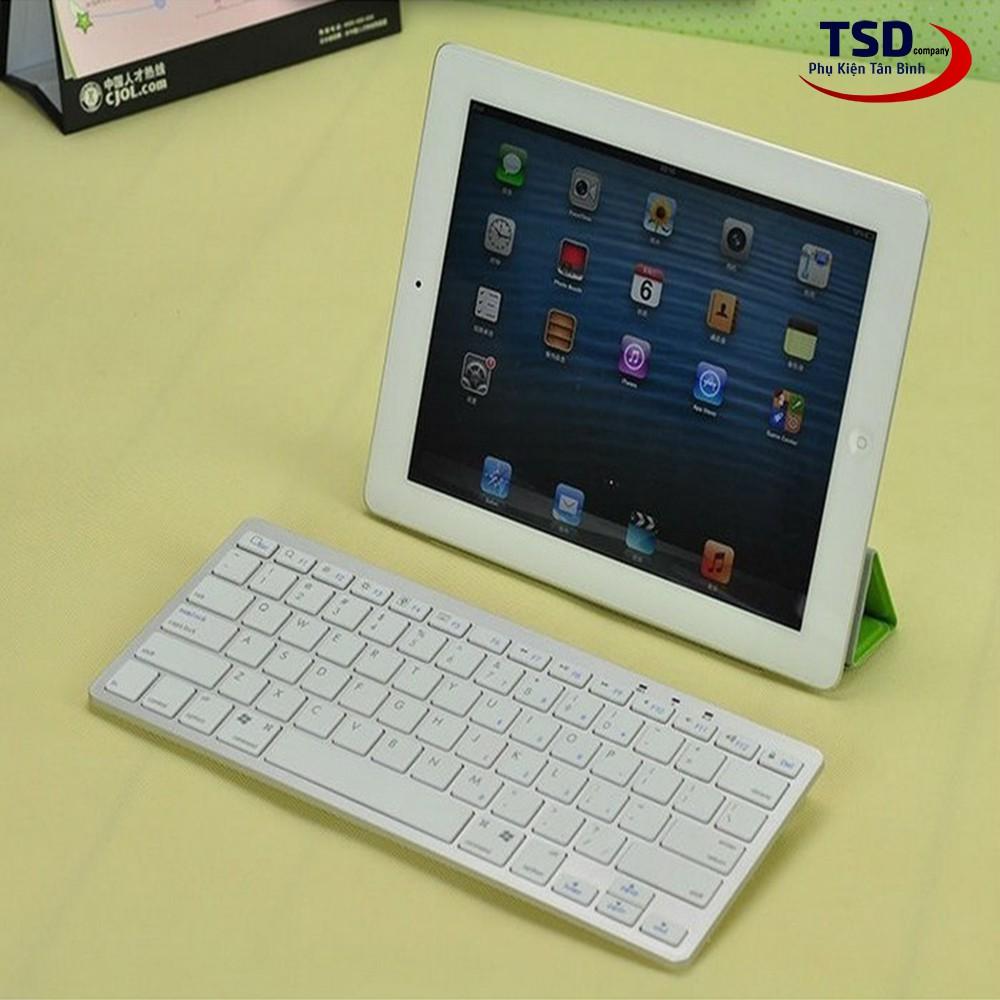 Bàn Phím Bluetooth Mini Cho Smartphone, iPad, Máy Tính Cao Cấp - 23032239 , 35858842 , 322_35858842 , 240000 , Ban-Phim-Bluetooth-Mini-Cho-Smartphone-iPad-May-Tinh-Cao-Cap-322_35858842 , shopee.vn , Bàn Phím Bluetooth Mini Cho Smartphone, iPad, Máy Tính Cao Cấp