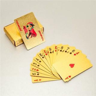 Bộ bài chơi tết mạ vàng 24k