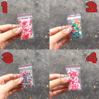 Cốm trang trí ( 12 mẫu )_ Nguyên liệu làm slime