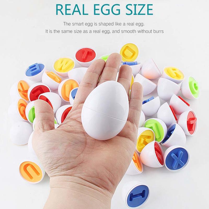Set 12 Trứng Phục Sinh Đồ Chơi Dành Cho Bé 1 2 3 Tuổi