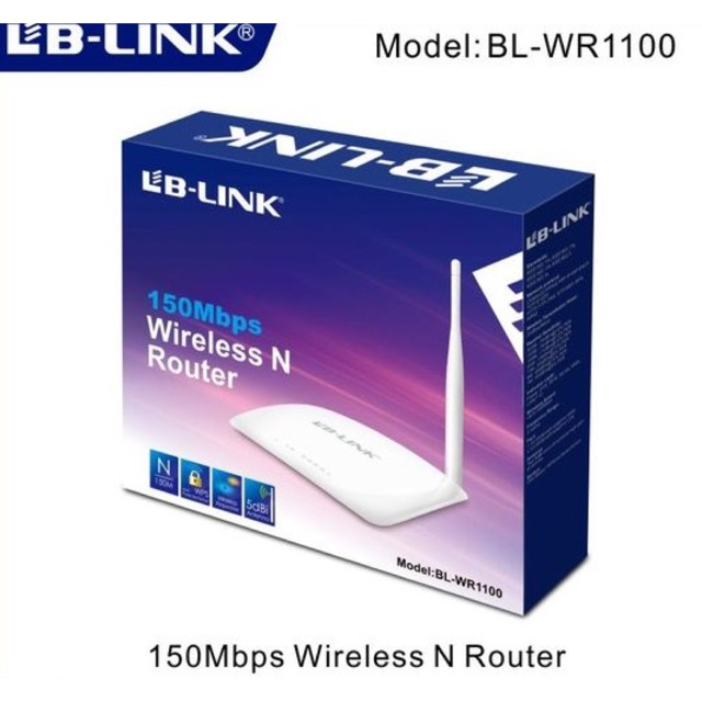 Bộ phát LB-Link BL-WR1100 150Mps Wireless Router
