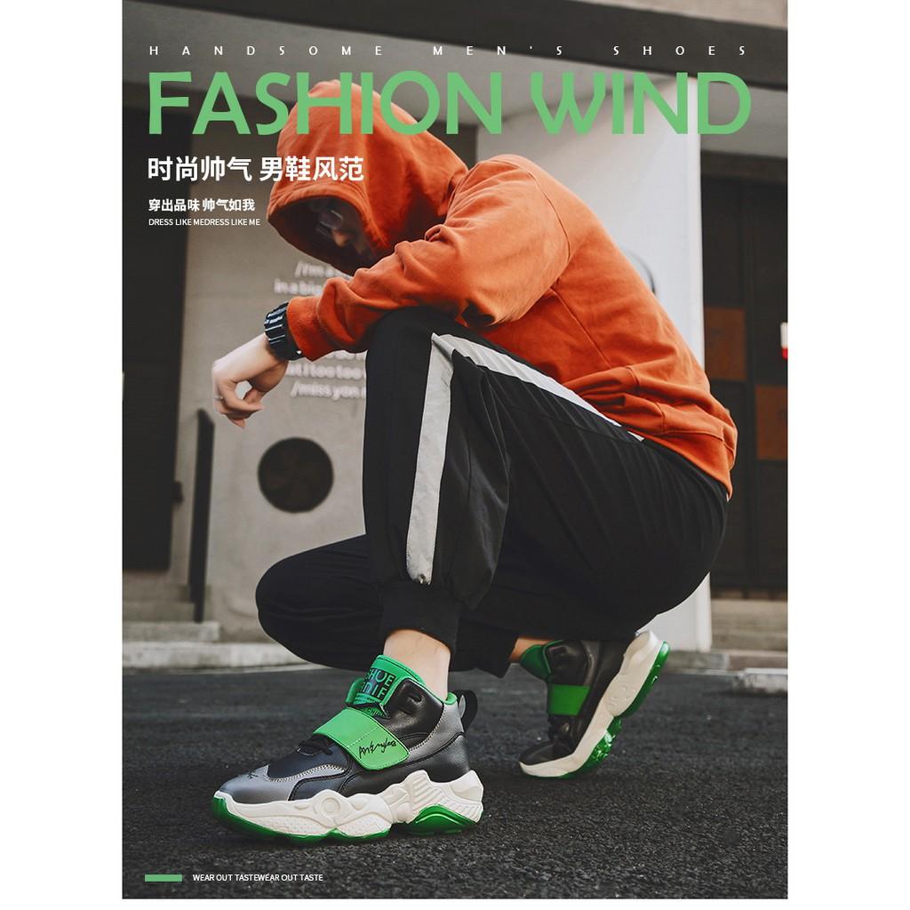 Giày Thể Thao Nam Cổ Cao Thời Trang Hip Hop