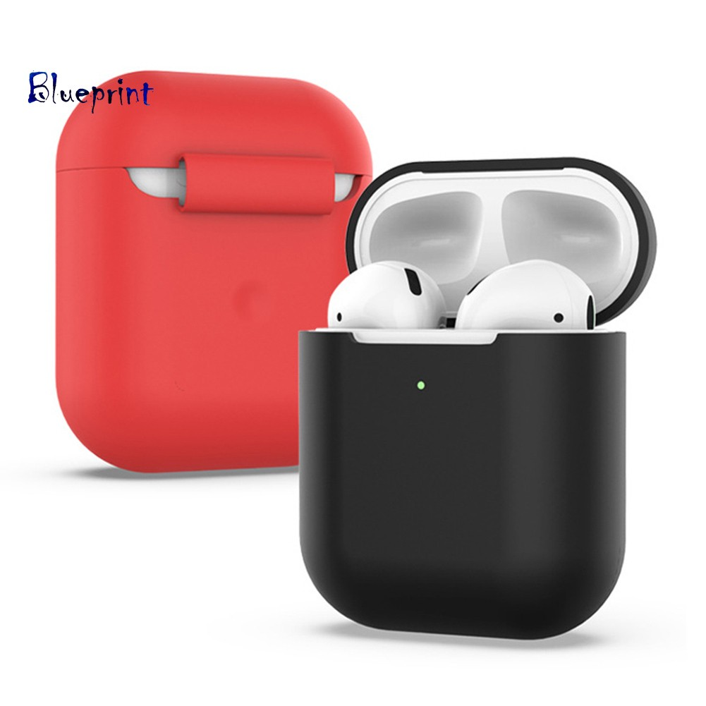 ☞BPSilicone Wireless Bluetooth Earphones Protective Storage Bag Case for AirPods 2