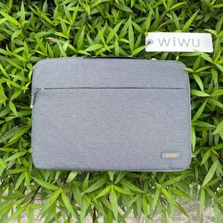 [Cam kết chính hãng] Túi xách chống sốc WIWU Pilot Sleeve cho Macbook Laptop - 13 14 15 16 inch (Màu xám) thumbnail