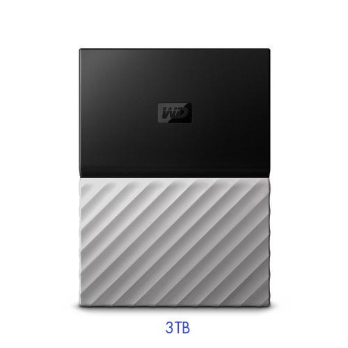 Ổ cứng di động 3TB WESTERN Passport Ultra WDBFKT0030BGY-WESN (Màu đen xám)