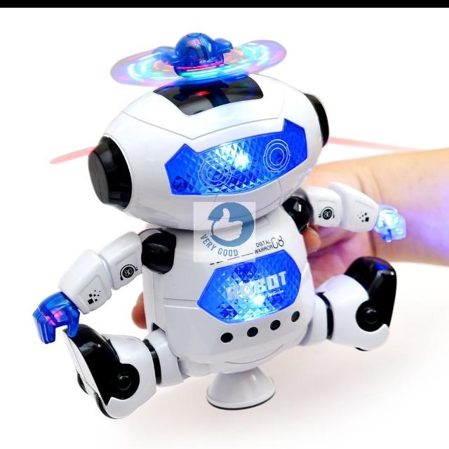 Combo 3 bạn robot xoay 360 độ
