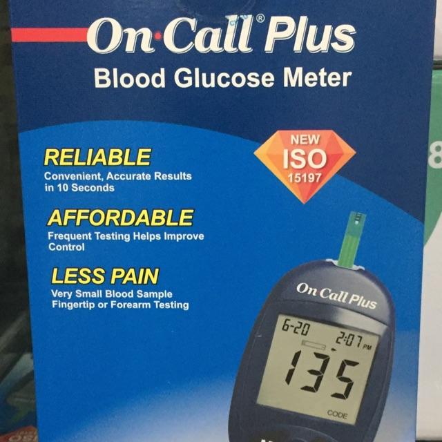Nơi bán Máy Đo Đương Huyết Oncall Plus