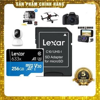 Thẻ nhớ 256GB  Lexar microSDHC / microSDXC ™ UHS-I 633x - Class10-100mb/s