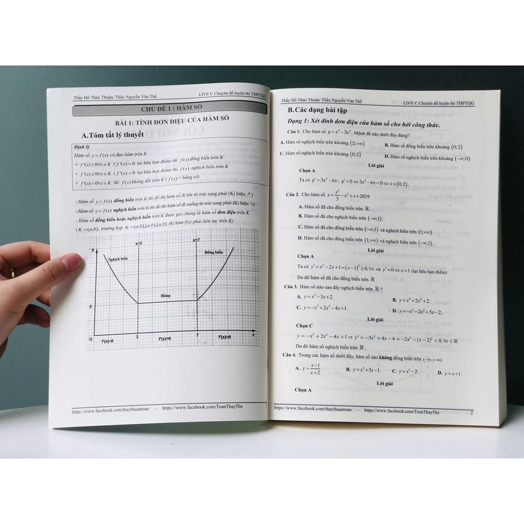 Sách: Luyện Thi THPT Quốc Gia 2021 môn toán - Ôn Luyện Thi Môn Toán