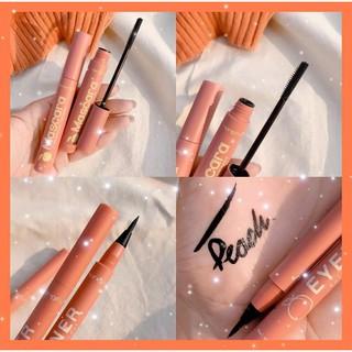 Combo 2 món mascara + eyeliner Hengfu Peach – Mới