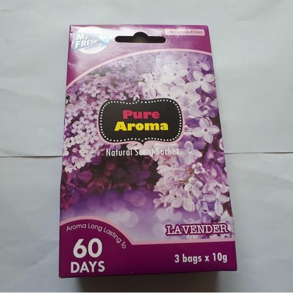 [Mã 267FMCGSALE giảm 8% đơn 500K] Hộp 3 túi thơm ngàn hoa khử mùi phòng tắm, phòng ngủ Mr Fresh Hàn Quốc (10g/túi)