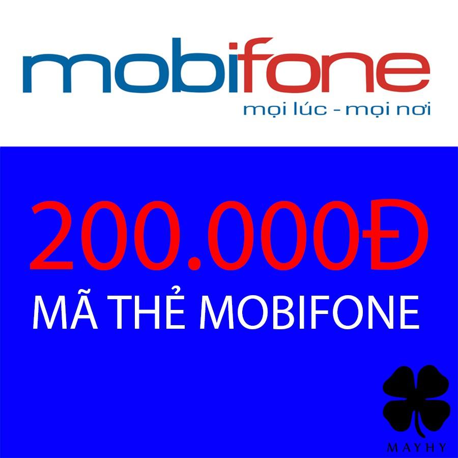 Mã thẻ Mobifone 200.000