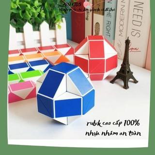 Rubik snake cao cấp - Rubik biến thể 100% nhựa nhám cao cấp, nhỏ bé nhưng vô cùng tiện dụng A380 thumbnail