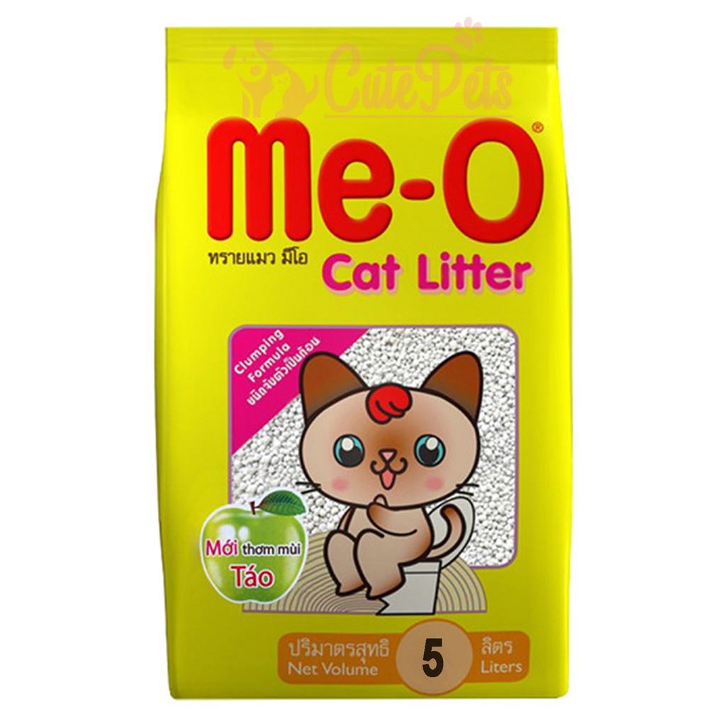 Cát vệ sinh cho mèo Me-O Cat Litter 5L - CutePets Phụ kiện chó mèo Pet shop Hà Nội