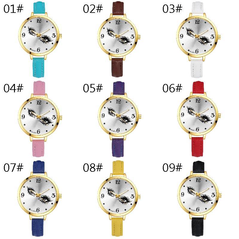 Fashion Ladies Watch Leather Women Watches Korean Wristwatch