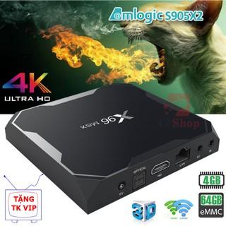 TV BOX X96 MAX Ram 4GB Rom 32-64GB Amlogic S905X2