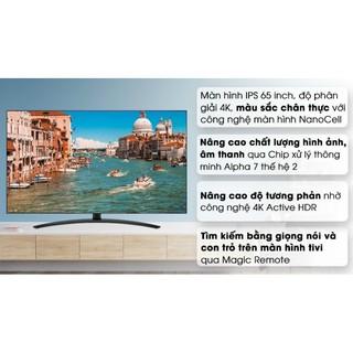Smart tivi NanoCell LG 4K 65 inch 65SM9000PTA