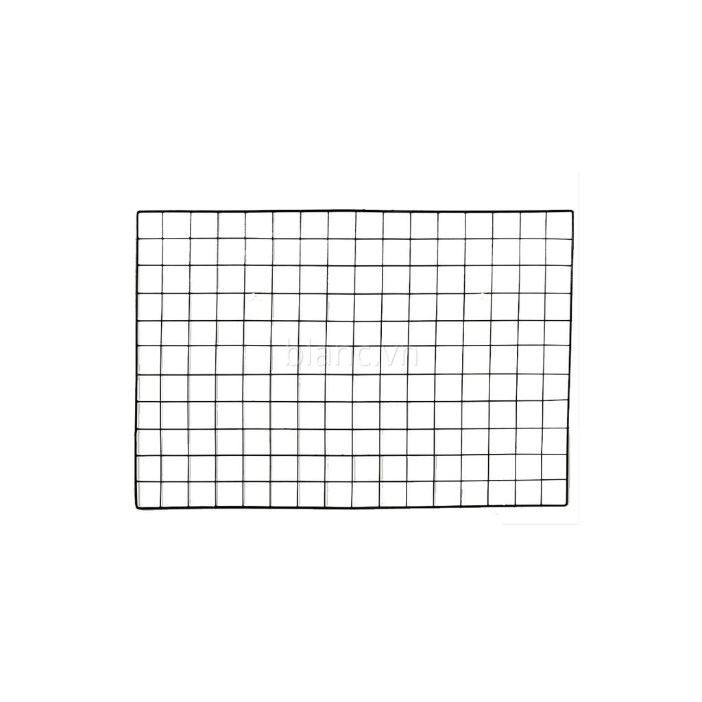Khung lưới sắt chữ nhật - màu đen