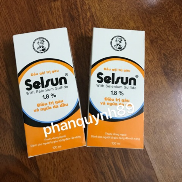 Dầu gội trị gàu Selsun 1.8% - Dành cho người bị gàu nặng đến rất nặng
