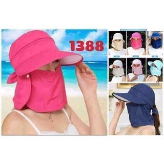 Mũ chống nắng kem khẩu trang chỗng tia uv