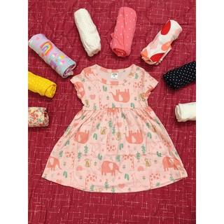 váy bé gái cotton 200k/5v