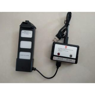 Bộ Sạc + Pin Flycam MJX BUGS 5W