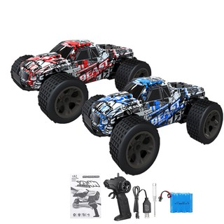 High Speed 1:20 30km/h Remote Control Car RC Electric Monster Truck Off Road RC
