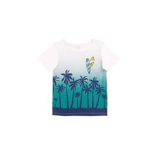 Áo thun ngắn tay Coconut tree (Navy Coconut Tree T-shirt) M.D.K