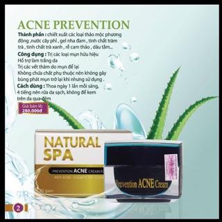 Kem trị mụn acne Prevention