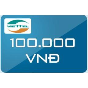 Thẻ Viettel mệnh giá 100.000 - 3174433 , 449853651 , 322_449853651 , 100000 , The-Viettel-menh-gia-100.000-322_449853651 , shopee.vn , Thẻ Viettel mệnh giá 100.000