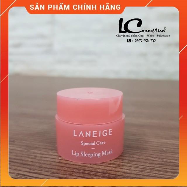 ( Hàng chính hãng)  Mặt Nạ Ngủ Môi Laneige Lip Sleeping Mask mini 3g