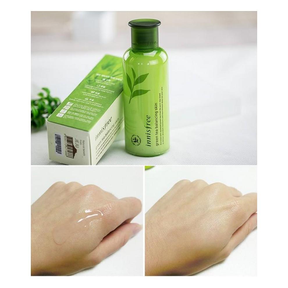 Nước Hoa Hồng Trà Xanh Innisfree Green Tea Balancing Skin 200ml. - 3297294 , 804701076 , 322_804701076 , 290000 , Nuoc-Hoa-Hong-Tra-Xanh-Innisfree-Green-Tea-Balancing-Skin-200ml.-322_804701076 , shopee.vn , Nước Hoa Hồng Trà Xanh Innisfree Green Tea Balancing Skin 200ml.