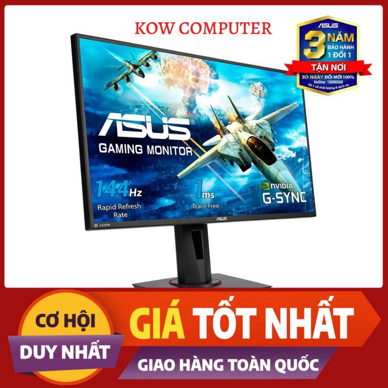 """Màn Hình Gaming - ASUS VG278Q 27"""" 144Hz 1ms G-SYNC Compatible, Adaptive-Sync Full HD 2 Loa"""