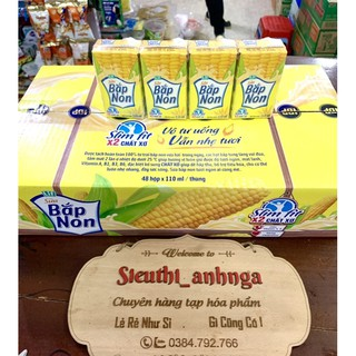 Sữa Bắp Non Lif Kun Thùng 48 Hộp x 110ml