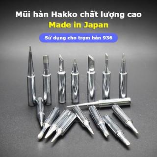 Đầu mũi hàn Hakko 900M-T nhật bản cho trạm hàn 936 hàng cao cấp