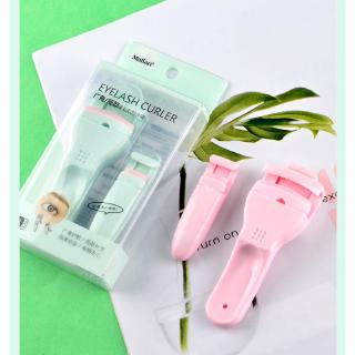 Cuộn Lông Mi Women Portable Japanese Curling Iron Mini Eyelash Curler Long Lasting Curl Small Eyelashes Easy Curling Eyelash Curler