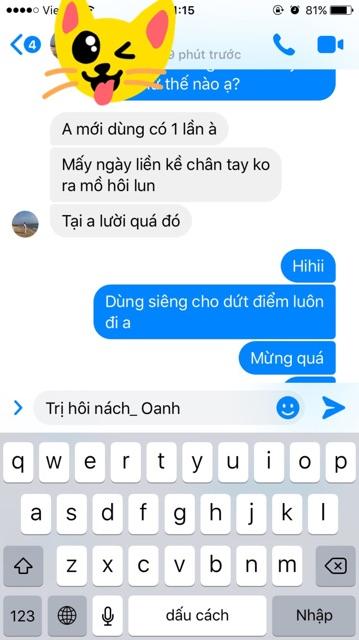 Đặc trị hôi nách Trần Kim Huyền