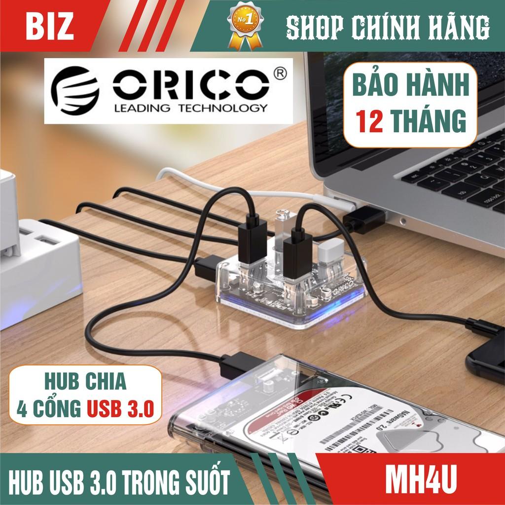 [HUB USB 3.0]Hub Chia 4 Cổng USB 3.0 Orico - Hàng chính hãng