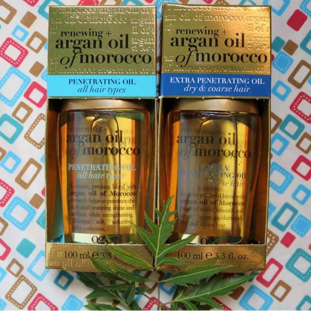 ( có bill nhập) dưỡng tóc OGX Argan Oil Of Morocco