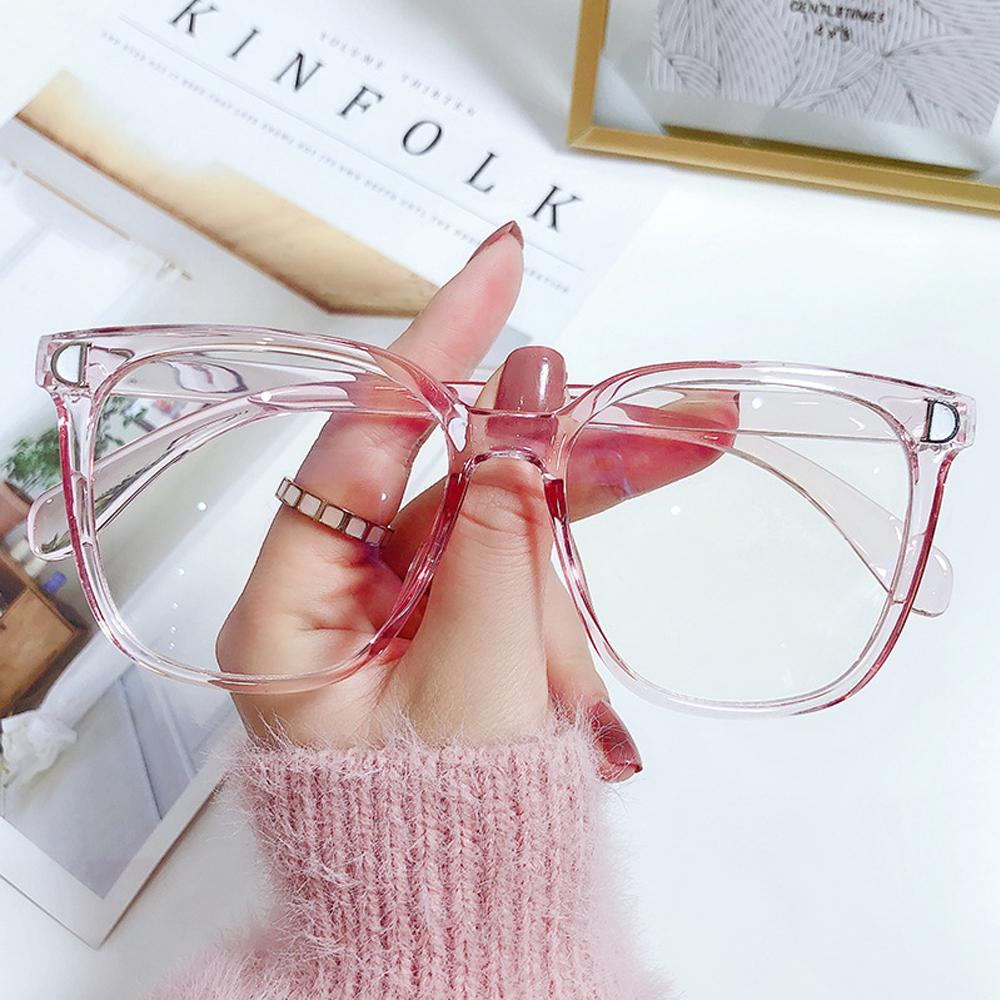 MOILY Unisex Blue Light Blocking Glasses Radiation Protection Flat Mirror Eyewear Computer Goggles Vision Care Ultralight Flexible Fashion Eyeglasses/Multicolor