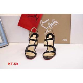 KT-59 Louboutin sandal cao 10cm siêu cấp