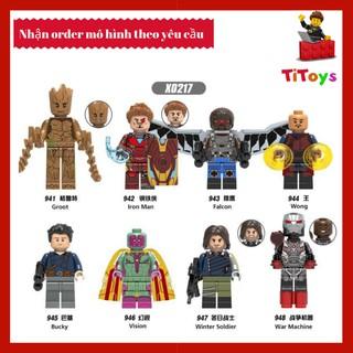 Minifigures Các Nhân Vật trong Marvel – Mini Non LEGO