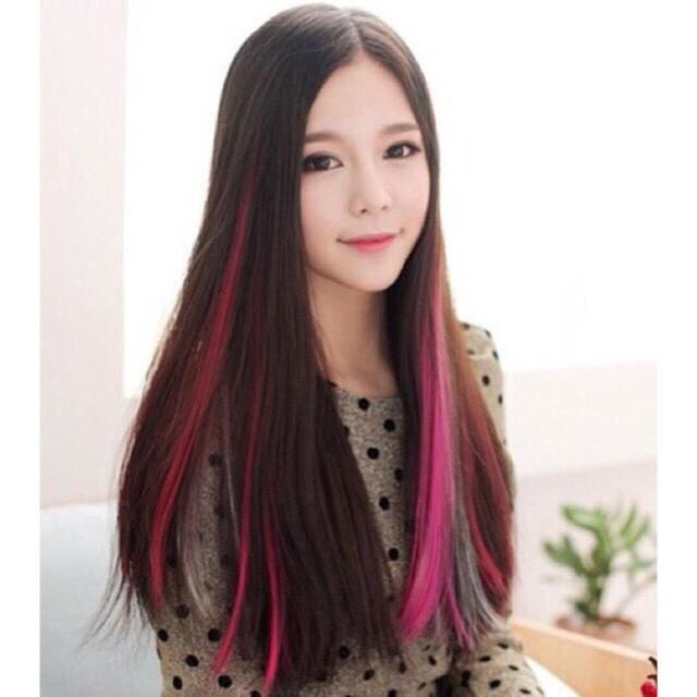 Light tóc nhiều màu dễ thương